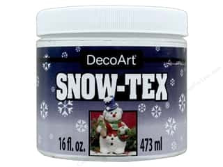 craft & hobbies: DecoArt Snow-Tex 16 oz.