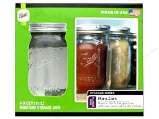 craft & hobbies: Ball Jar Mini 4oz 4pc