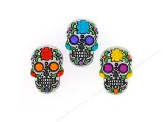 novelties: Jesse James Embellishments Day Of The Dead