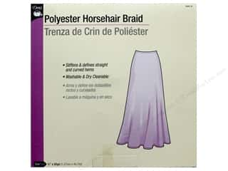 Dritz Polyester Horsehair Braid 1/2 in x 50 yd (50 yards)