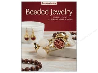 beading & jewelry making supplies: Easy-to-Make Beaded Jewelry Book