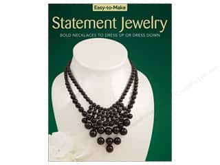 beading & jewelry making supplies: Easy-to-Make Statement Jewelry Book