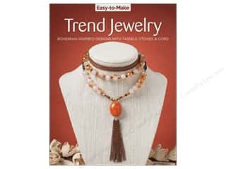 beading & jewelry making supplies: Easy-to-Make Trend Jewelry Book