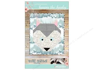 Clearance: Mckay Manor Musers Harper the Husky Baby Blanket Pattern