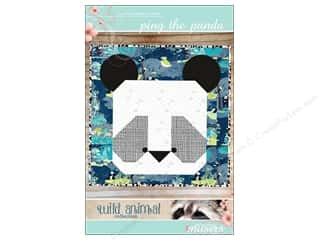Clearance: Mckay Manor Musers Ping the Panda Baby Blanket Pattern