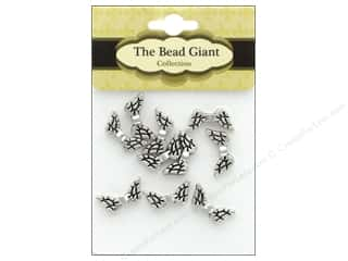 beading & jewelry making supplies: The Bead Giant Bead Angel Wing 20 mm Silver 10 pc