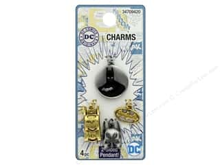 Cousin DC Comics Charms Batman 4pc