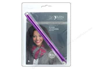 yarn & needlework: Darice Yarn Accessories Kit Learn to Knit Mini