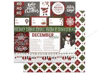 """Photo Play Collection Mad 4 Plaid Christmas Paper 12""""x 12"""" Ho Ho Ho (25 pieces)"""