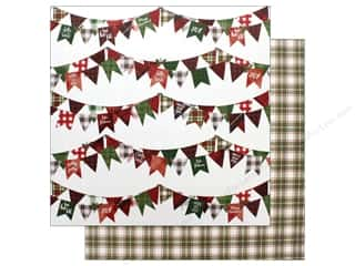 """Photo Play Collection Mad 4 Plaid Christmas Paper 12""""x 12"""" Joy (25 pieces)"""