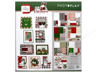 Photo Play Collection Mad 4 Plaid Christmas Card Kit