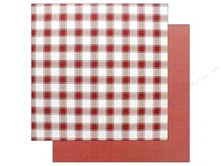 "Photo Play Collection Mad 4 Plaid Christmas Paper 12""x 12"" Solids Plus Red (25 pieces)"