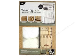 "yarn & needlework: Bucilla Kits Weaving Loom Starter 10"" Adjustable"