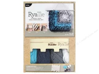 yarn & needlework: Bucilla RyaTie Home Deco Kit Wall Classic Fade