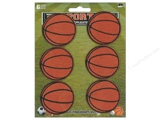 C&D Visionary Applique Basketball 6pc