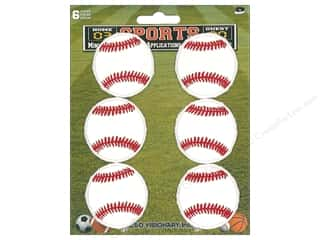 C&D Visionary Applique Baseball 6pc