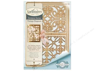 die cutting machines: Spellbinders Die Shapeabilites Filigree Booklet