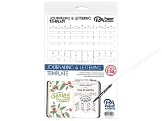 Paper Accents Journaling & Lettering Template Plastic 6 in. x 9 in.