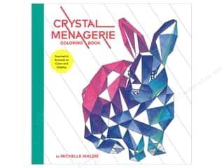 Clearance: Crystal Menagerie Coloring Book