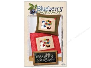 books & patterns: Blueberry Backroads Washing With Snow Pattern