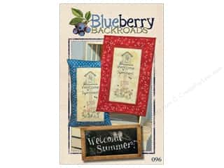 decorative bird': Blueberry Backroads Welcome Summer Pattern