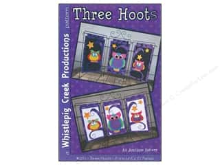 books & patterns: Whistlepig Creek Three Hoots Pattern