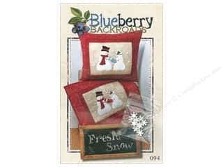 books & patterns: Blueberry Backroads Fresh Snow Pattern