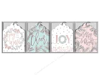 twine: Lady Jayne Gift Tags Die-Cut Winter Blush 16pc