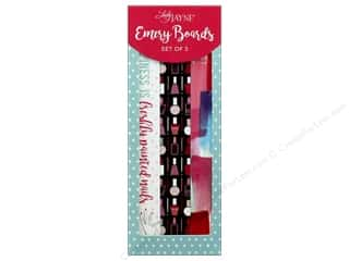 Lady Jayne Nail File Emery Board Nail Polish Set of 3 Picture