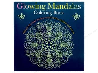 Glowing Mandalas Coloring Book