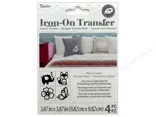 Darice Iron-On Transfer Wooland - White 4 pc.