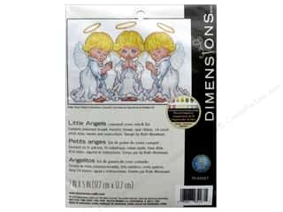 "yarn & needlework: Dimensions Cross Stitch Kit 7""x 5"" Little Angels"
