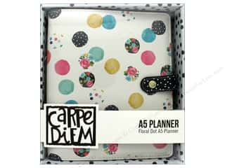 Simple Stories: Simple Stories Collection Carpe Diem A5 Planner Floral Dot