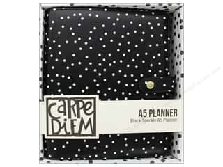 Simple Stories Collection Carpe Diem A5 Planner Black Speckle