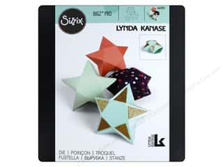 die cutting machines: Sizzix Dies Lynda Kanase Bigz Pro Box Star