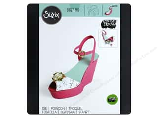 Sizzix Lindsey Serate Bigz Pro Die Wedge Shoe Box