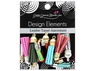 craft & hobbies: Jesse James Embellishments Tassel Assortment Leather