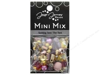 resin: Jesse James Bead Mini Mix Setting Into The Sun