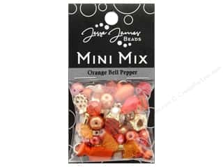 resin: Jesse James Bead Mini Mix Orange Bell Pepper