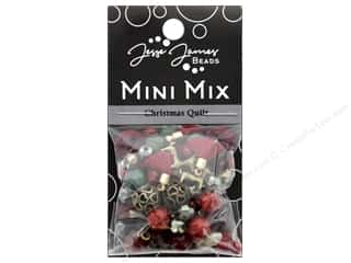 craft & hobbies: Jesse James Bead Mini Mix Christmas Quilt