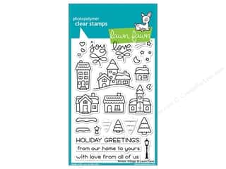 Lawn Fawn Clear Stamp Winter Village