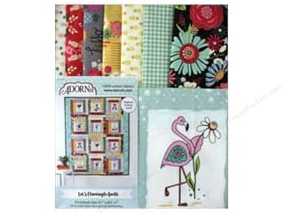 Adornit Quilt Kit Let's Flamingle