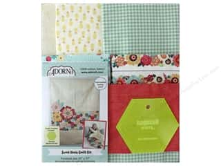 Adornit Quilt Kit Sweet Hexis With Template