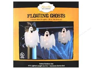 Sierra Pacific Crafts Lights Floating Ghost Set White Cord