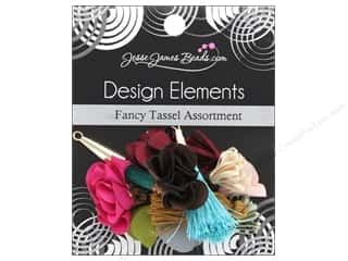 craft & hobbies: Jesse James Embellishments Tassel Assortment Fancy