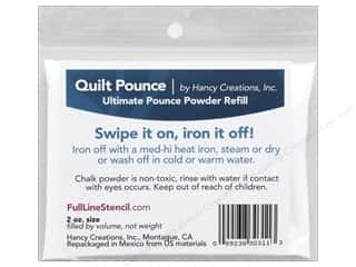 Hancy Mfg Quilt Pounce Refill Ultimate Iron Off 2 oz