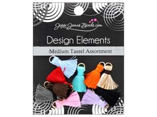 craft & hobbies: Jesse James Embellishments Tassel Assortment Medium
