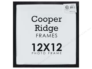 craft & hobbies: Sierra Pacific Crafts Frame Wood With Easel 12 in. x 12 in.  Black
