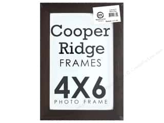 Sierra Pacific Crafts Frame Wood With Easel 4 in. x 6 in.  Walnut