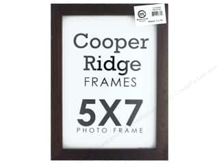 Sierra Pacific Crafts Frame Wood With Easel 5 in. x 7 in. Walnut